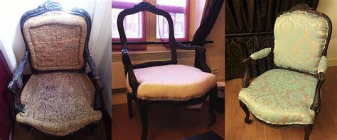 comment tapisser une chaise tapisser une chaise recouvrir une chaise en paille la