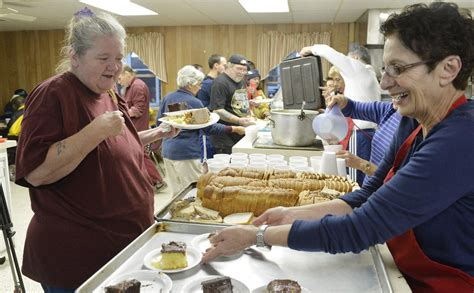 emmaus soup kitchen reopens to feed hungry news goerie