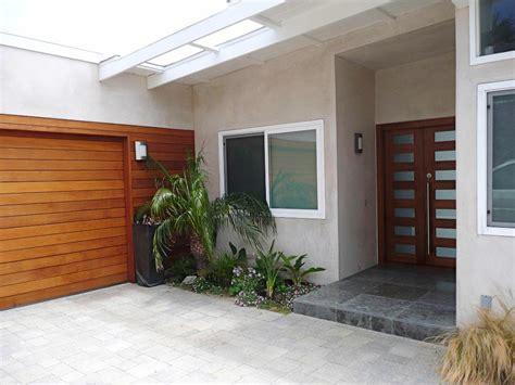Contemporary Wood Garage Doors