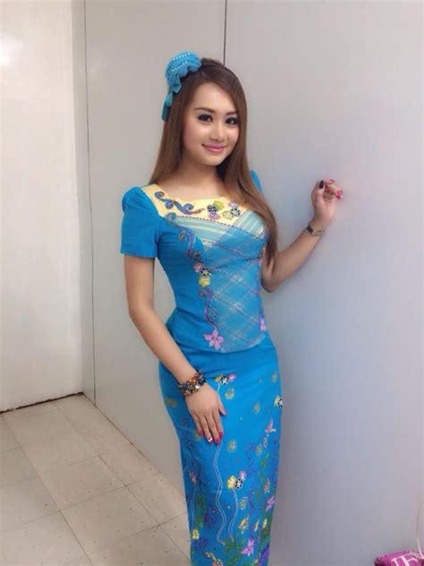 Beautiful Model And Dressed Model Thiri Shinn Thant 39 S Beautiful Fashion