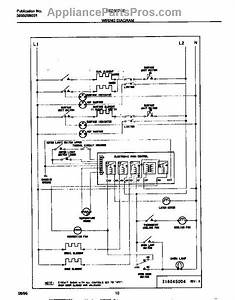Parts For Frigidaire Fed367cebb  Wiring Diagram Parts
