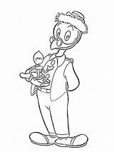 Gyro Coloring Gearloose Pages Ducktales Total Nice sketch template