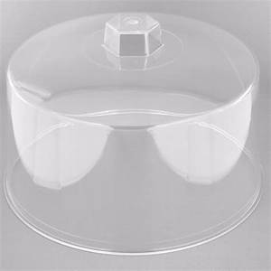 Tablecraft 421 12quot Clear Plastic Cake Cover