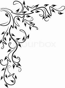 Rahmen Vorlagen Schnörkel : saum randverzierung einfassung vektorgrafik colourbox ~ Eleganceandgraceweddings.com Haus und Dekorationen