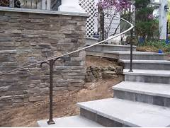 Outdoor Metal Handrails For Stairs by 39 Best Images About Railings On Pinterest Stone Steps Stair Railing And A