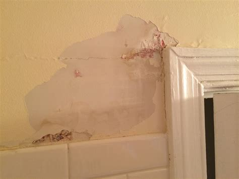 repair plaster   bathroom home