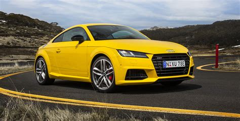 Review Audi Tt Coupe by 2016 Audi Tt S Coupe And Roadster Review Caradvice