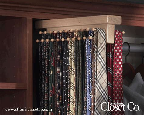 tie racks louis closet co