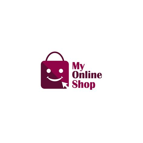 professional modern  shopping logo design