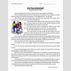 Reading Comprehension Worksheets 3rd Grade Reading Alistairtheoptimist Free Worksheet For Kids