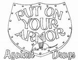 Coloring Drug Pages Anti Armor Shield Contest Drawing Sheets Comments Advertisement These sketch template