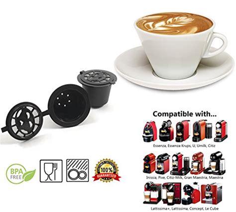 pack bureau nespresso galleon reusable nespresso capsules 6 pack