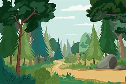 Forest Illustrations Market Creative