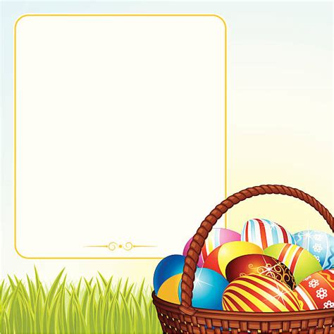 Use this free printable basket template in a wide variety of crafts; Best Cartoon Of A Empty Easter Basket Illustrations ...