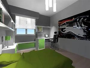 Lit Enfant Garcon : chambre enfant design garcon ~ Farleysfitness.com Idées de Décoration