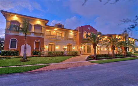 Opulent Mansions by Opulent 18 000 Square Foot Mansion In Fl