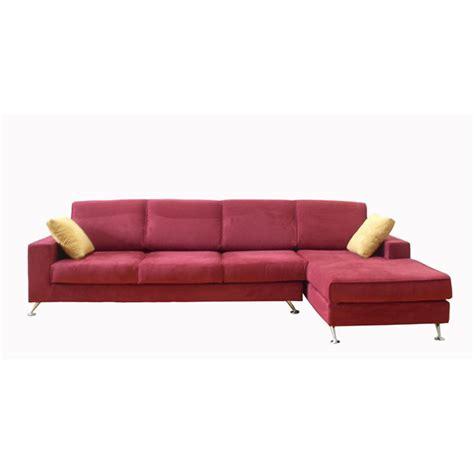 sofa with chaise lounge modern sofa chaise smileydot us