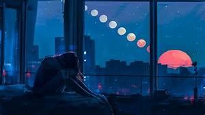 Lofi, Night, Wallpapers