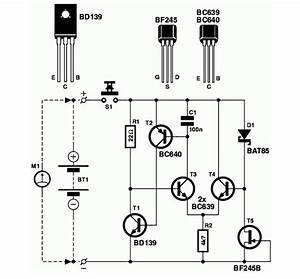 Battery Tester Circuit Schematic