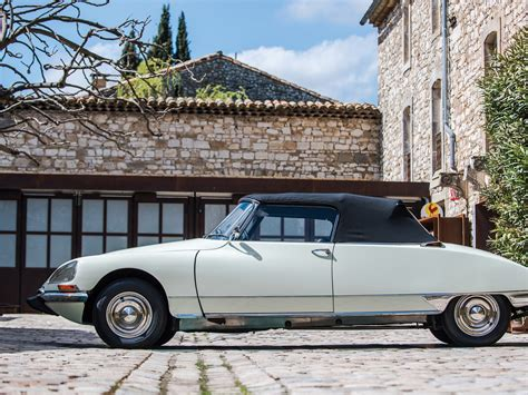Citroen Ds Cabriolet by Rm Sotheby S 1969 Citro 235 N Ds 21 Cabriolet Usine By