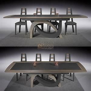 Table a manger granit for Meuble salle À manger avec buffet salle À manger chene