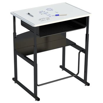stand up desk options all alphabetter stand up desk with erase top by safco