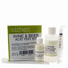 Wine & Beer Acid Test Kit  Titration Kit  Balliihoo Home Brew