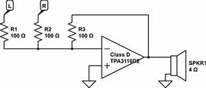 op amp can i use a class d amplifier as a summing With re audio amps