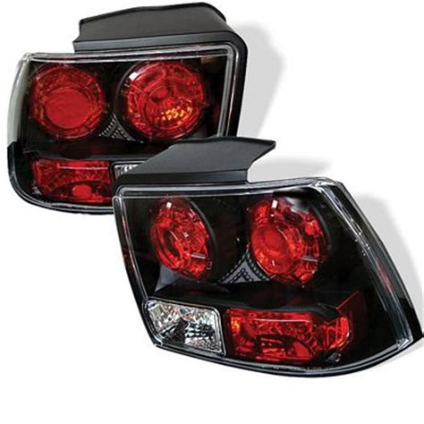 2004 mustang tail lights ford mustang 1999 2004 black altezza tail lights