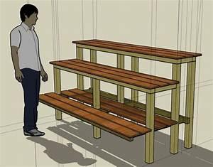 Bonsai Bench Plans PDF Woodworking