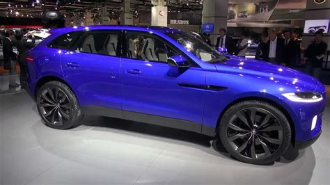 Suv Sport Utility Vehicle by Jaguar C X17 Sport Utility Vehicle Suv At Frankfurt 2013