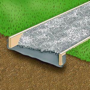 comment mettre en place une allee de gravillons dans son With exceptional amenagement de jardin avec des pierres 9 rocaille jardin creer une rocaille pratique fr