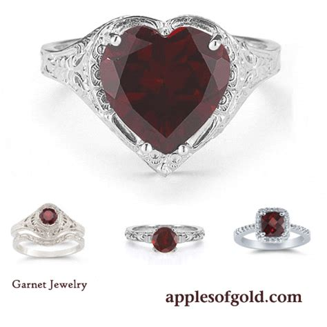 garnet jewelry spotlight applesofgoldcom