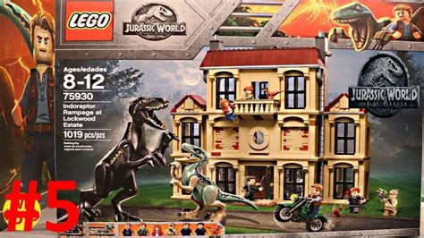 jurassic world fallen kingdom lego sets
