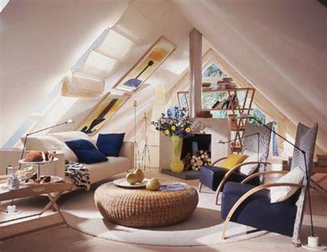 Dachboden Einrichtungsideen