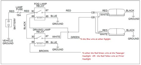 Fog Light Relay Switch Wiring Diagram Helpful