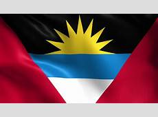 Flag Of Antigua And Barbuda Stock Footage Video 3686270