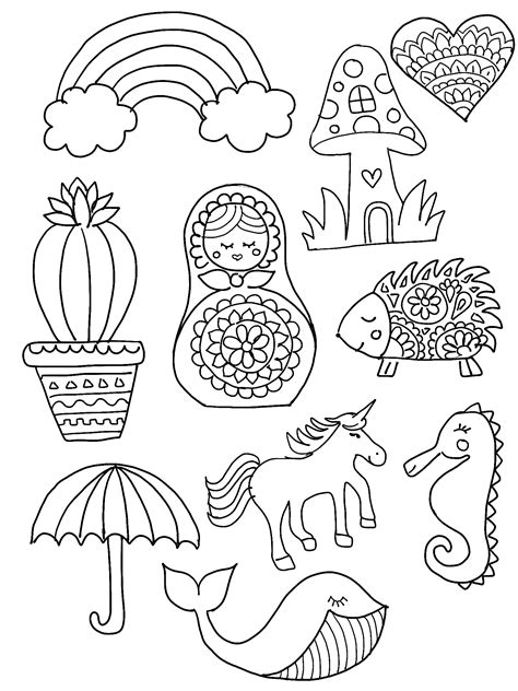 Tile Keychain Template by Diy Shrinky Dink Charms Shrinky Dinks Hedgehogs And Cacti