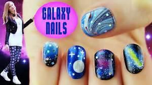 Galaxy nails nail art designs ideas