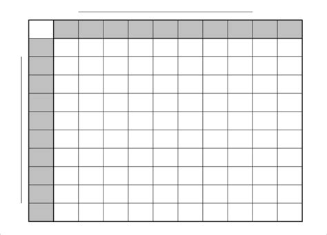 football squares template pdf 33 printable football square templates free excel word formats