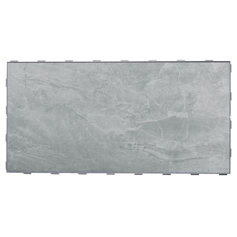snapstone tile home depot snapstone oyster grey 12 in x 24 in porcelain floor tile