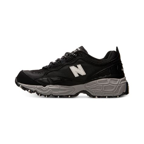 new balance mens 801 casual sneakers from finish line in black for men lyst