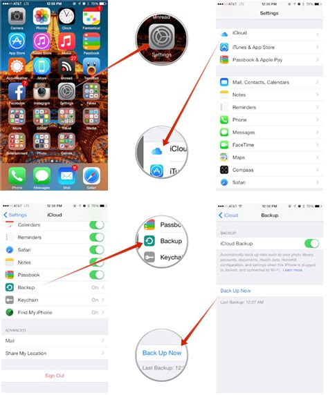 save to iphone how to manually trigger an icloud backup on iphone and