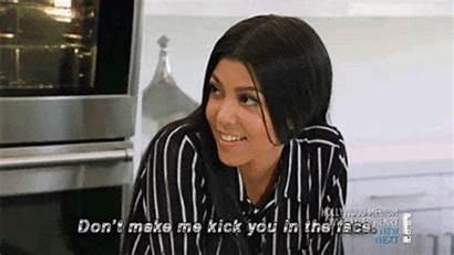 Kardashians Keeping Gifs Face Kardashian Thin Kick