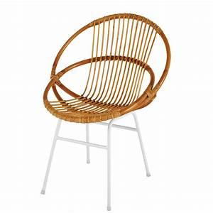 Fauteuil Rotin Rond : fauteuil rotin rond fabulous fauteuil rotin pietement ~ Dode.kayakingforconservation.com Idées de Décoration
