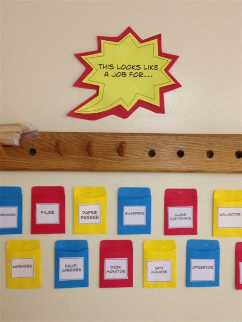 769 Best Images About School Classroom Theme Superheroes! On Pinterest  Super Hero Theme