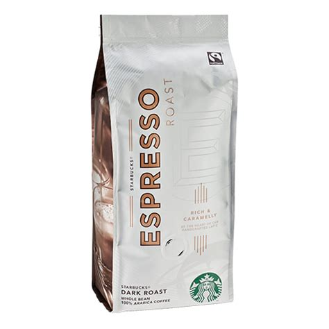 Brewed with starbucks 100% arabica beans. Starbucks Coffee Espresso Roast coffee beans 250g expired date - DeliCo - Coffee Online