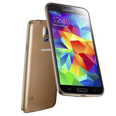 samsung galaxy s5 g900 16gb 4g lte android phone in gold verizon excellent condition used
