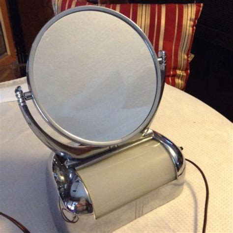 lighted make up mirror vintage lighted makeup mirror ebay