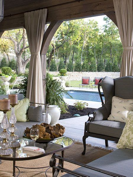 Outdoor Drapes by Feature Friday The Last Southern Accents Showhouse